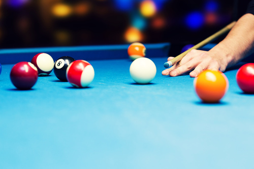bar games - pool billiard